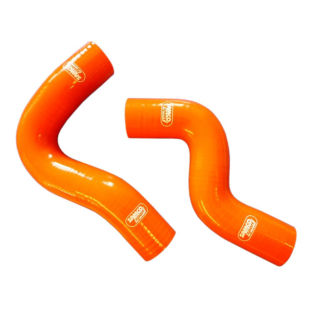 Samco Hose Kit - Subaru Impreza Turbo GC8 Version 1 to 6 (WRX & STI) Coolant (2) in Orange