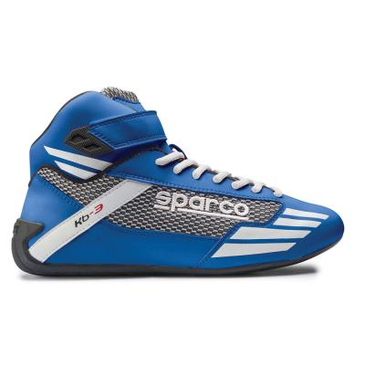 Sparco Mercury KB-3 Kart Boots Blue/White