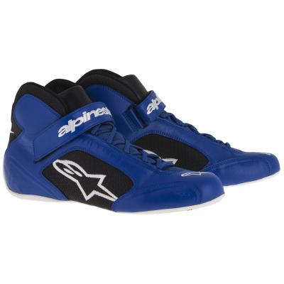 Alpinestars Tech 1-K Kart Boots in Blue with Black