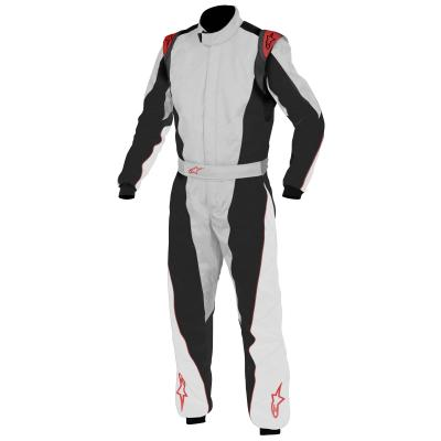 Alpinestars K-MX 5 Kart Suit Silver Black Red