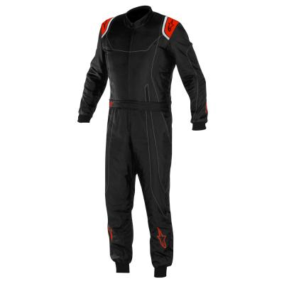 Alpinestars KMX-9 Kart Suit in Black with Red