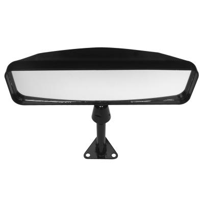 Lifeline Sports Car Mirror Black Centre Mount With 75mm Stem