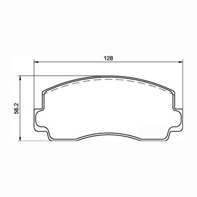 Mintex Racing Brake Pads MDB1138-M1144 For Mitsubishi Various