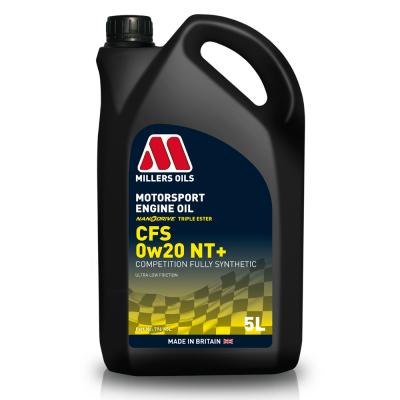 Millers 0W20 CFS Nanodrive Plus Synthetic Engine Oil (5 Litre)