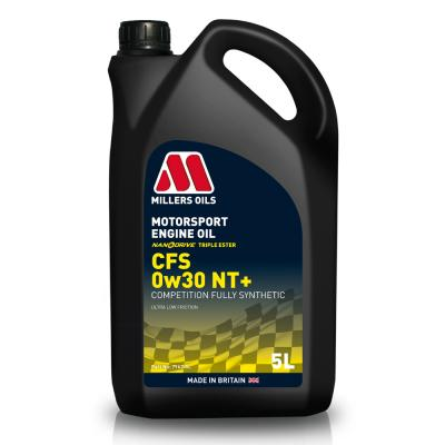 Millers 0W30 CFS Nanodrive Plus Synthetic Engine Oil (5 Litre)