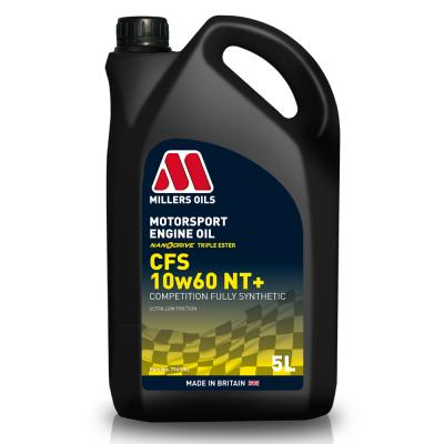 Millers 10W60 CFS Nanodrive Plus Synthetic Engine Oil (5 Litre)