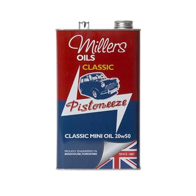 Millers Classic Mini 20W50 Mineral Oil (5 Litres)