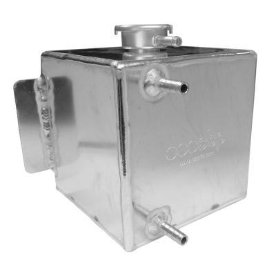 Universal Aluminium Water Header Tank from Merlin Motorsport