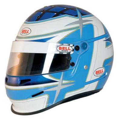 4607217b Bell RS3 Sport Star Race / Rally Full Face Helmet in Blue from ...