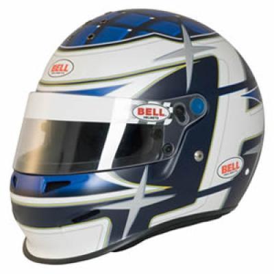 949e85cb Bell RS3 Sport Star Race / Rally Full Face Helmet in Matt Blue