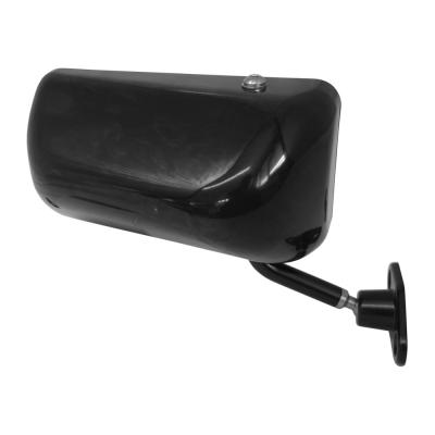 SPA Touring Car Mirror Black Right Hand with Convex Lens
