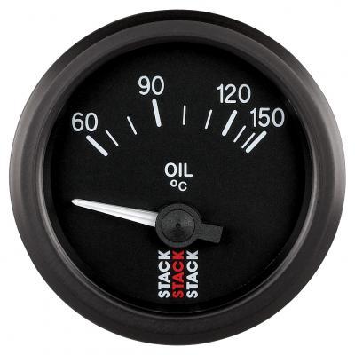 Stack Electric Oil Temperature Gauge 60-150°C ST3209