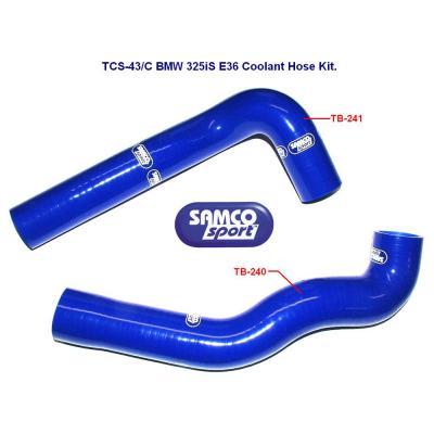 Samco Hose Kit - BMW 325I E36 Coolant (2)
