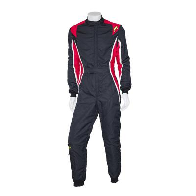 P1 Turbo Race Suit - 2 Layer FIA 8856-2000 Approved Suit in Black
