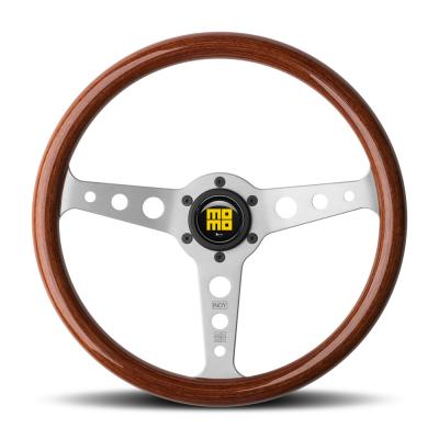 Momo Indy Steering Wheel with Mahogany Woodrim