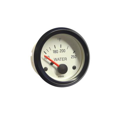 VDO White Face Water Temperature Gauge