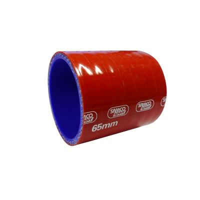 Samco Straight Coupling Hose 65mm Bore in Red