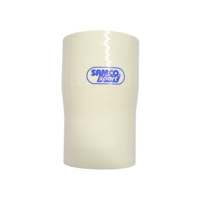 Samco 57mm>51mm Silicone Hose Reducer in White