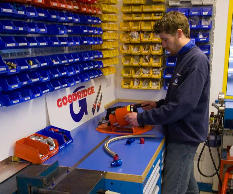 Goodridge G-Tec Workshop at Merlin Motorsport