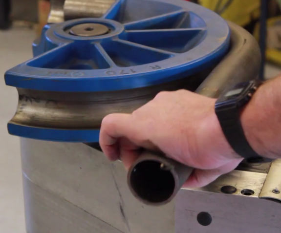 Tube bending by Merlin Motorsport